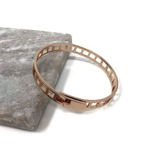 Madewell Tracecraft Bangle Bracelet Ladder Cut Out